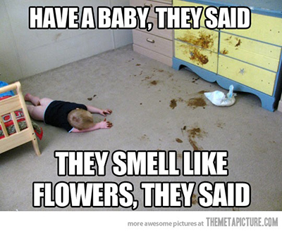 smell like flowers