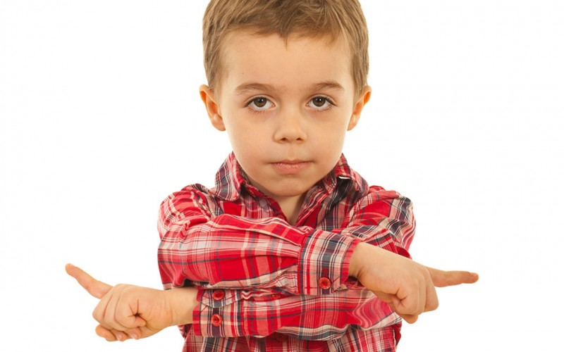 How can I tell if my child is right-handed or left-handed?