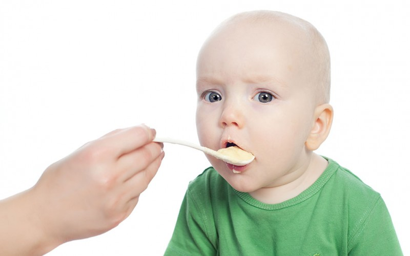 Now that my baby has eaten her first solid foods, how many times a day should she eat solid food?