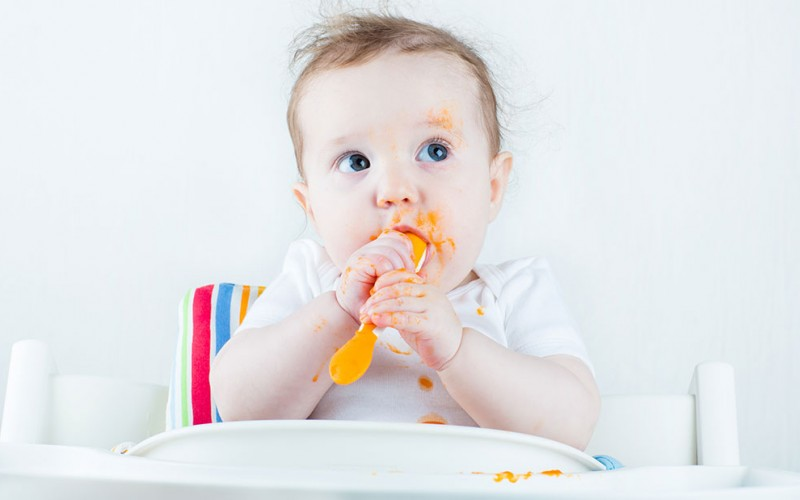 QOD: Why shouldn't I give my baby solid food for 4-6 months?