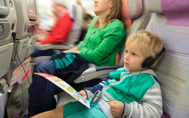 Flying with a child