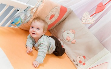 How long should our baby stay in our room at night?