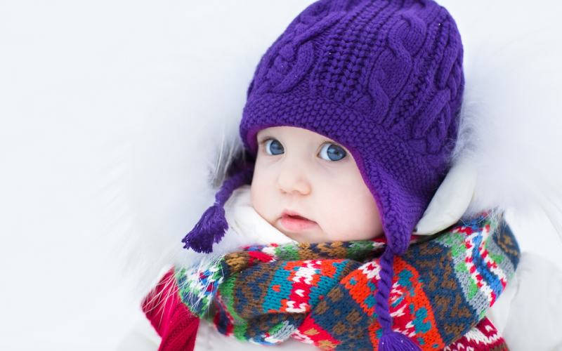 Baby bundles: keeping your baby warm and safe during cold weather