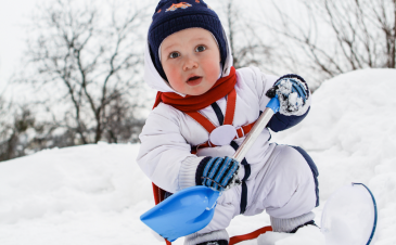 Facing the polar vortex? Protect your child from frostbite
