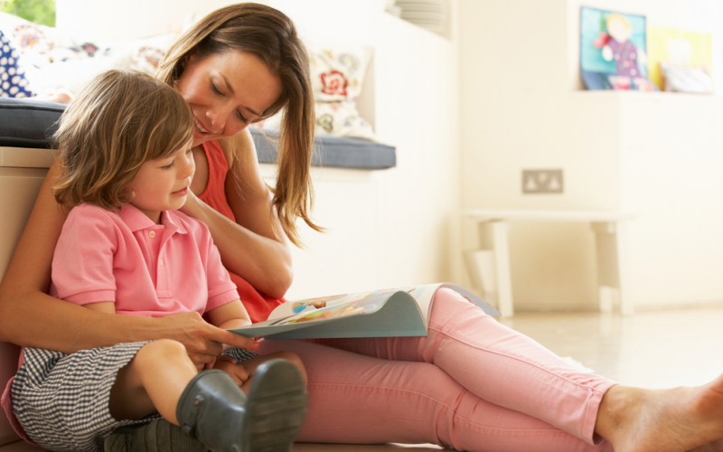 How can I read to my toddler?