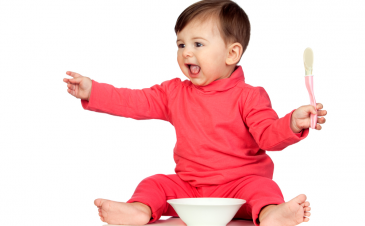 Tips for baby-led weaning