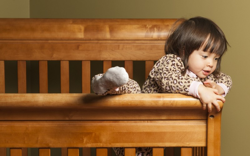 Help your toddler move from crib to bed