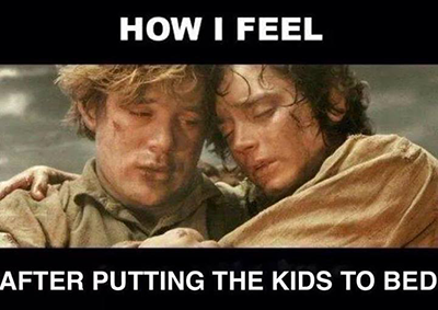 after-kids-to-bed-LOTR