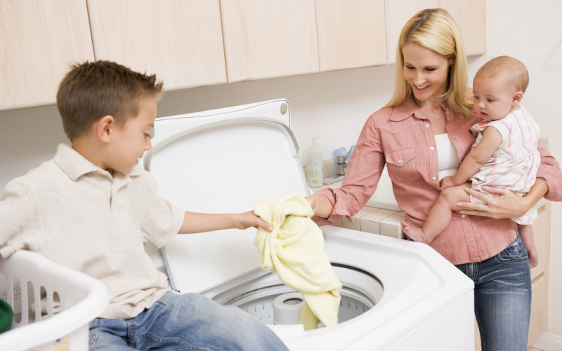 Does using laundry detergent hurt my baby?