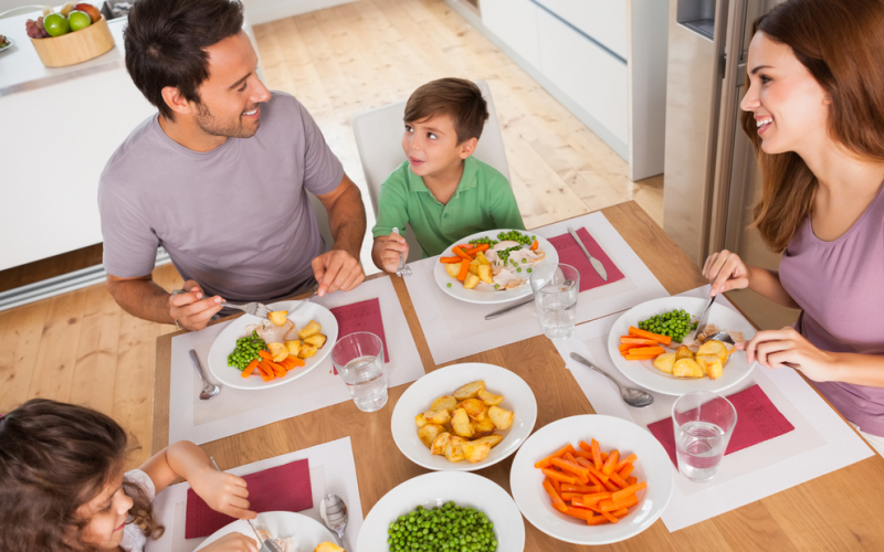 Manners matter at mealtime