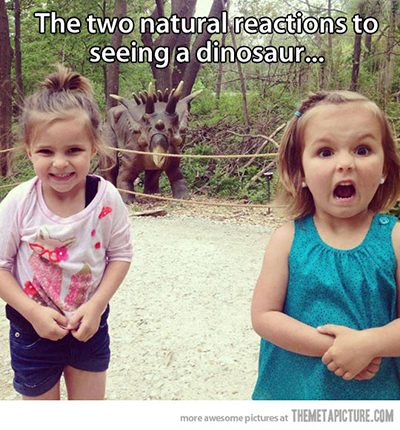 funny-dinosaur-reactions-girls-screaming