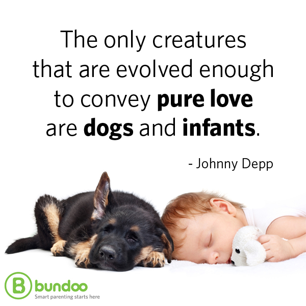 Johnny Depp dogs and infants quote