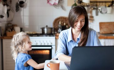4 ways to make working from home work for your family
