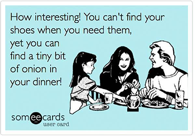 picky eaters of course