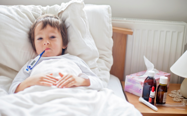 Will my child be given medicine if he is diagnosed with the flu?