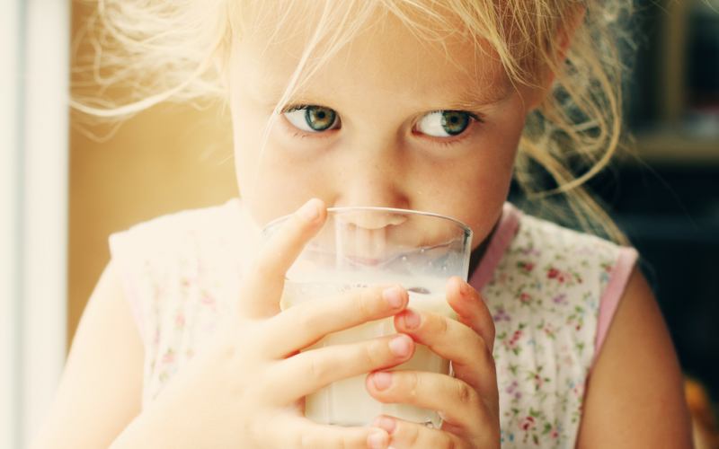 Can my toddler drink almond milk?