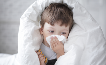 How do I know if my child has a sinus infection?