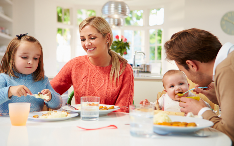 QOD: When should I bring my baby to the family meal table?