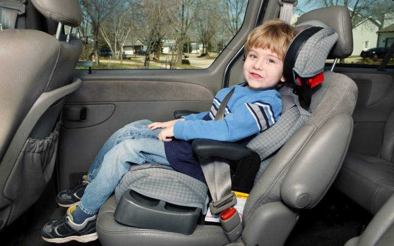 Life after the car seat: why your child needs a booster seat