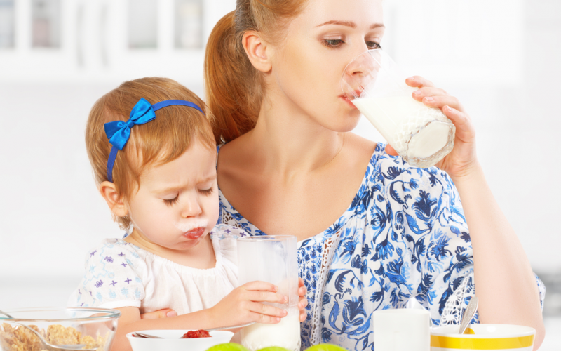 Is it OK for my toddler to drink raw milk?