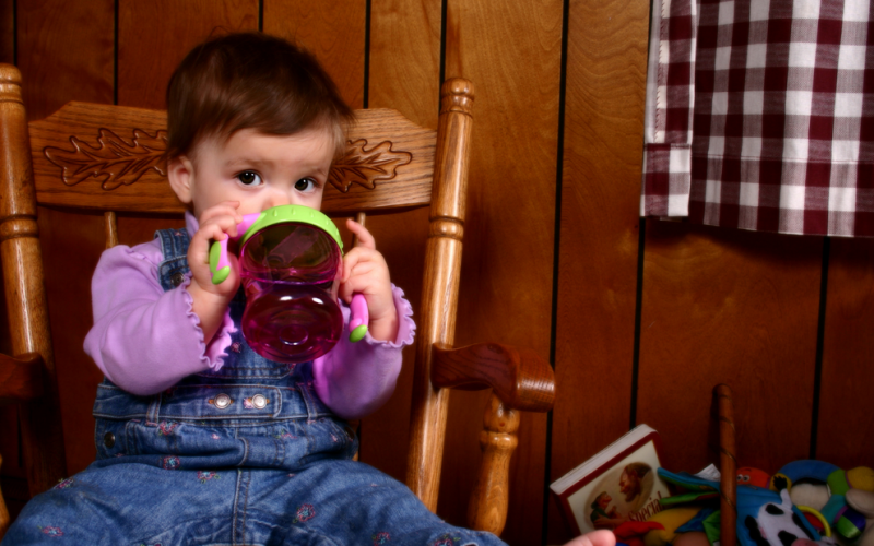 Are sippy cups OK for my baby?