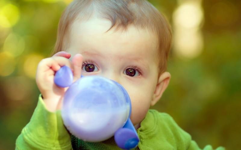 My baby won't give up the bottle—what can I do?