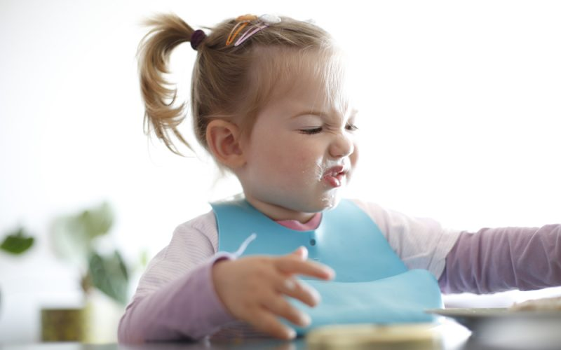 What should I do if my toddler refuses a new food?