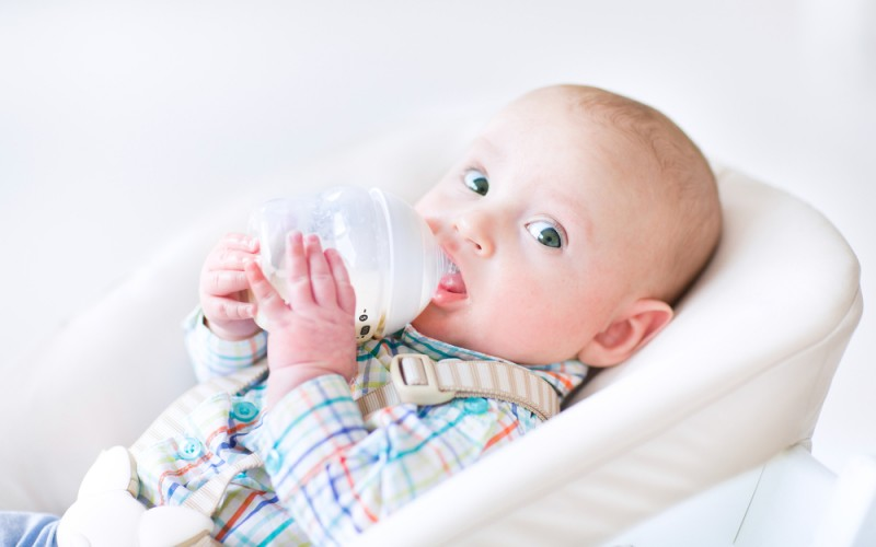 Lactose intolerance in infants