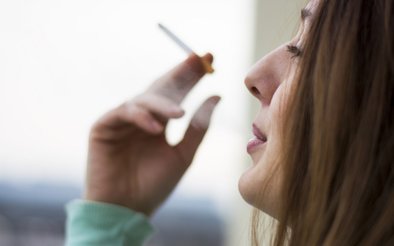 What are the long-term risks of smoking while pregnant?