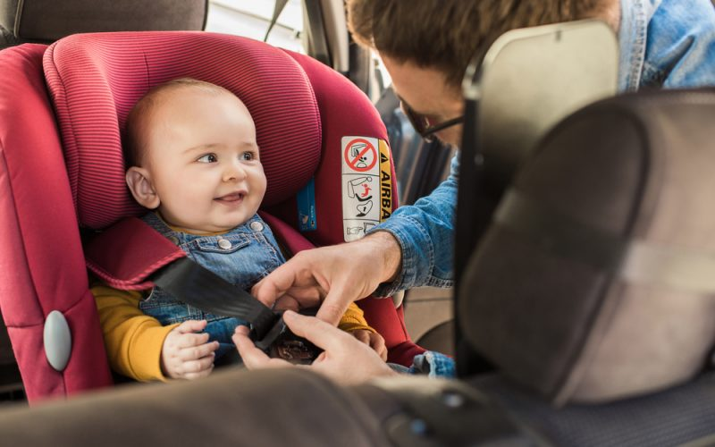 How to install a child car seat