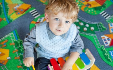 Music therapy for toddlers