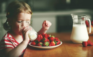 Is raw milk safe for kids?