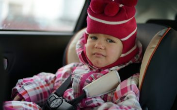 Car seat safety for holiday travel (even on airplanes!)