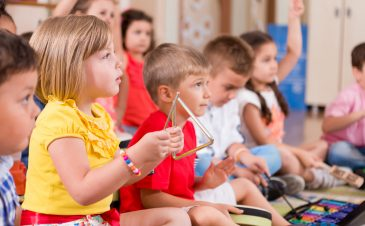 Benefits of music for your preschooler