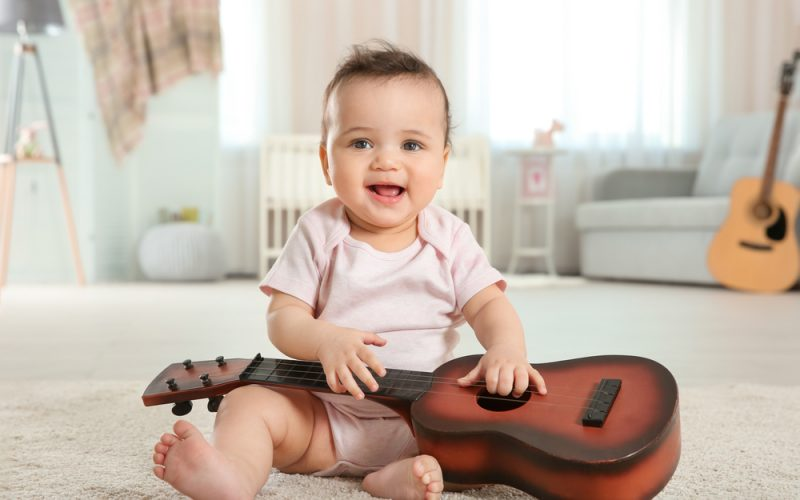 Benefits of music for your toddler