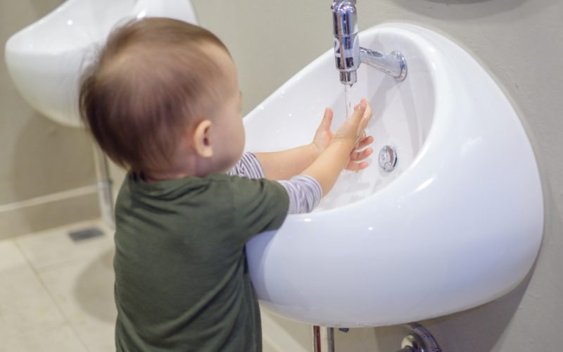 Washing hands 101: How to wash your baby's hands the right way