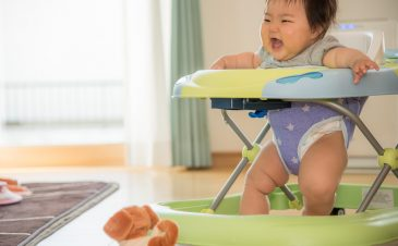 Do infant walkers help babies learn to walk (and are they safe)?
